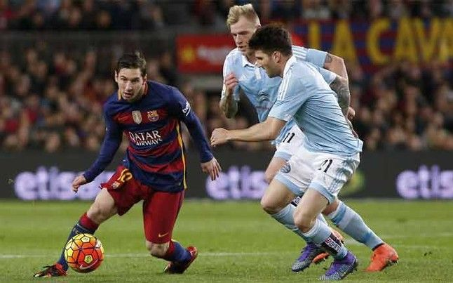 Messi es el mejor futbolista de la historia. No hay ninguna duda. Y ante el Celta volvió a demostrarlo con cuatro acciones de genio