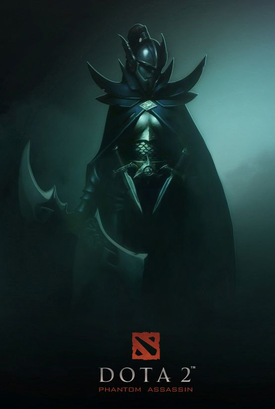 Even in death, youll not see beyond the Phantom Veil. Dota 2 Phantom Assassin by…