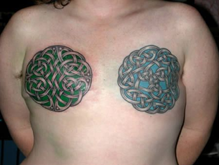 64 best breast cancer tattoos images on pinterest breast for Celtic breast cancer tattoos