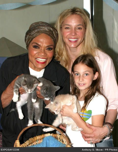 kitt shapiro wedding | Eartha Kitt, Daughter Kitt, and Grandaugther Rachel Shapiro Photo