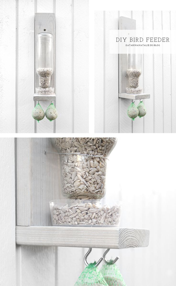 DIY bird feeder by Katarina Natalie
