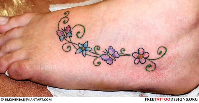 Foot+Tattoo+Ideas | here are some ideas and designs