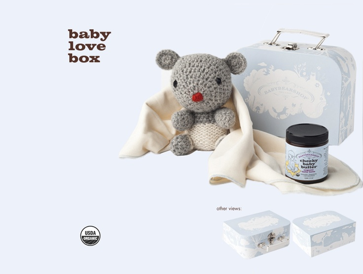 12 best organic baby gift baskets images on pinterest baby gift babybearshop organic baby gift set negle Choice Image