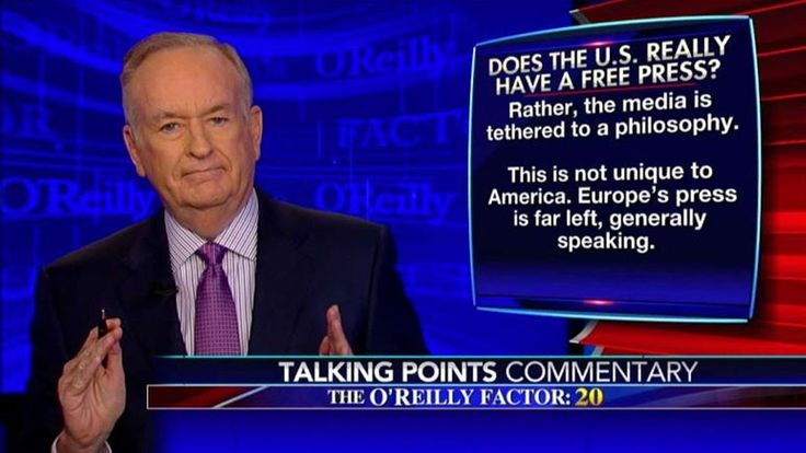 "Bill O'Reilly thinks the media can't be ""free"" if it has a such an obvious liberal bent. John Iadarola and Ben Mankiewicz, the hosts of The Young Turks, brea..."