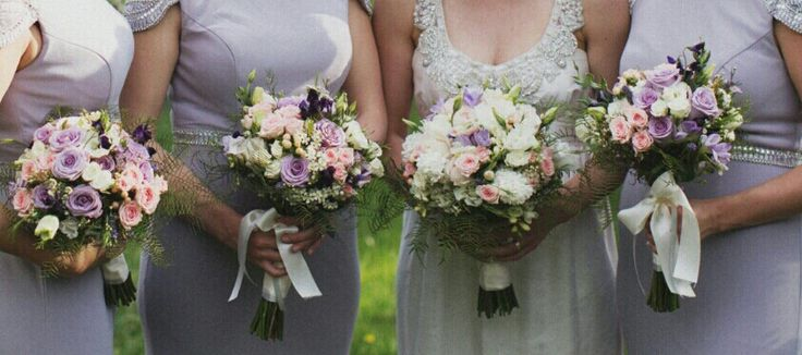 Lilac and soft pinks