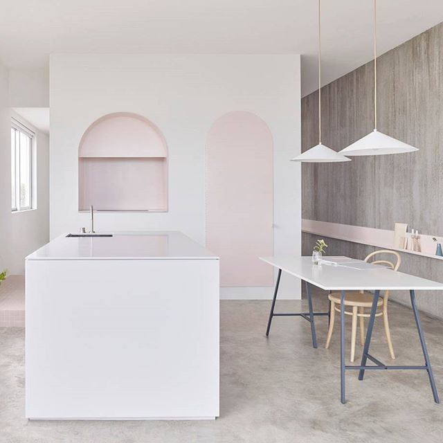 This Joyful Apartment Renovation Located In Footscray Melbournes Inner West Was A Finalist The 2017 Dulux Colour Awards Palette Of Materials