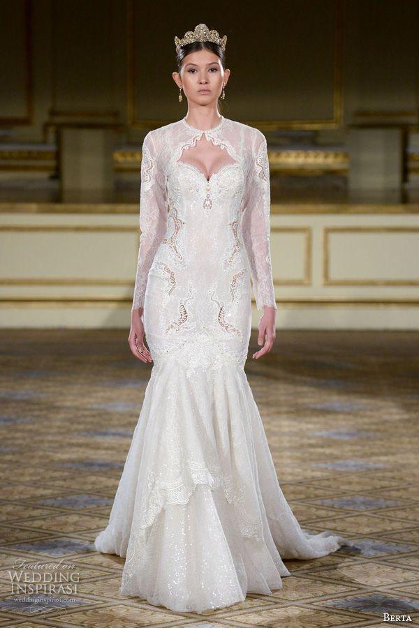 Berta Fall 2016 Wedding Dresses New York Bridal Runway