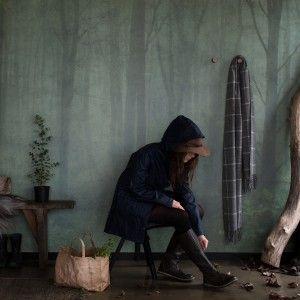 Wallpaper Skog by Daniella Witte