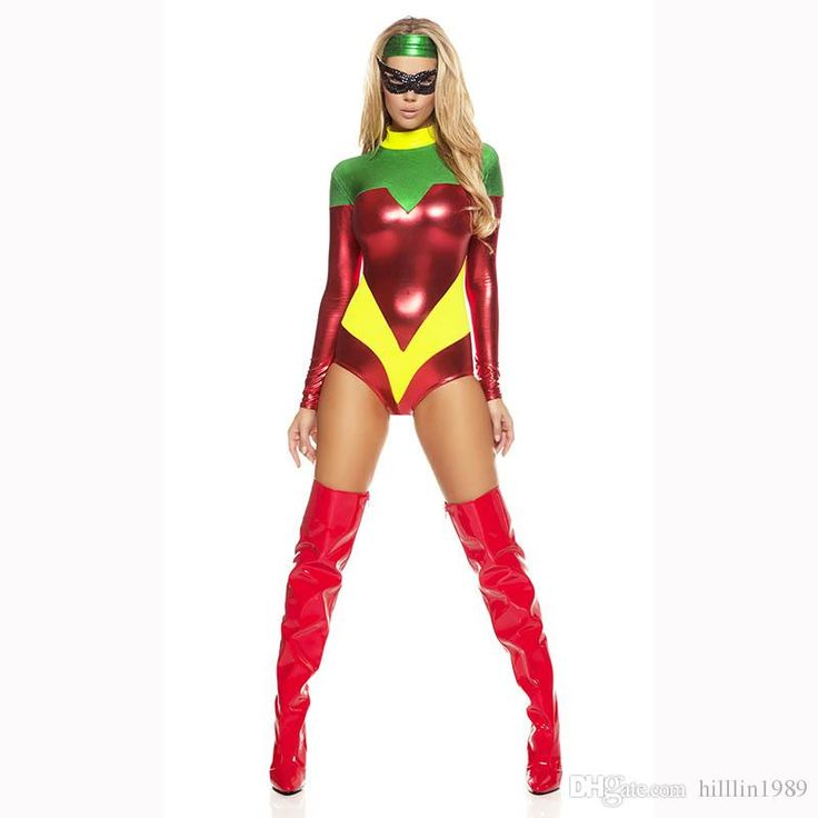 New Arrival Hot Fetish Uniform Faux Leather Pvc Super Hero Fancy Dress Astonishing Accomplice Costume W84450 Buy Costume Halloween Costumes For Groups From Hilllin1989, $16.08  Dhgate.Com