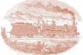 Le chemin de fer synonyme de progrès, de voyages, d'évasions... fait rêver la société d'alors.