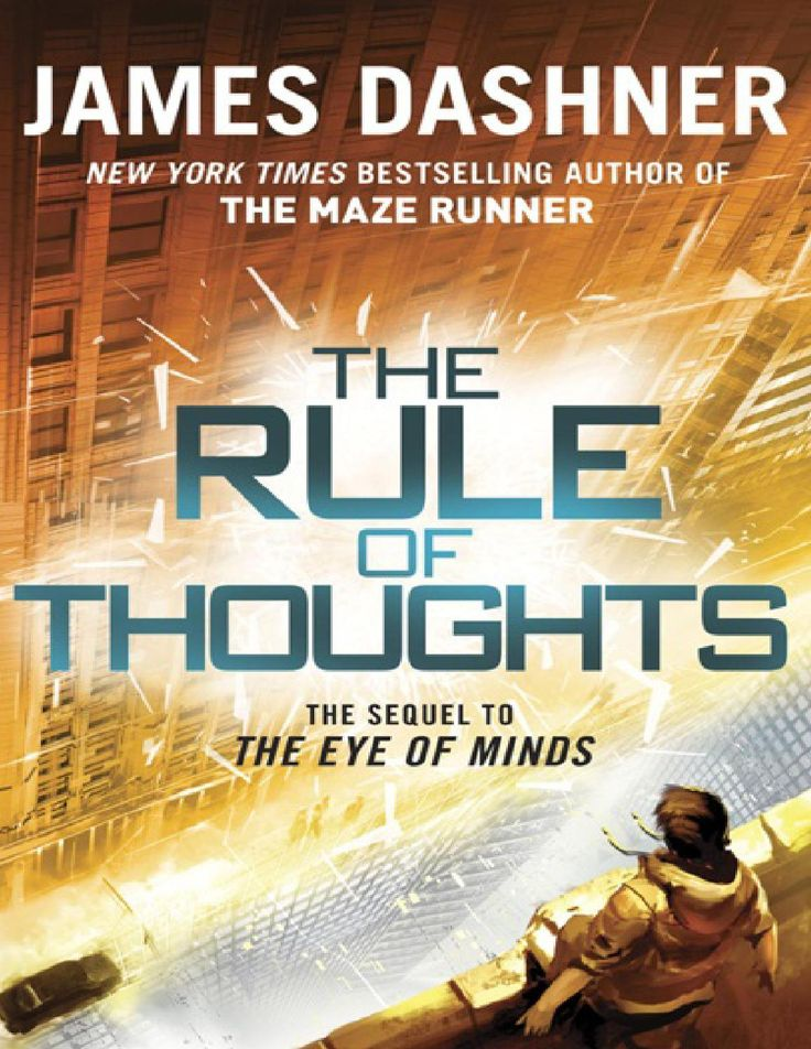 The rule of thoughts james dashner
