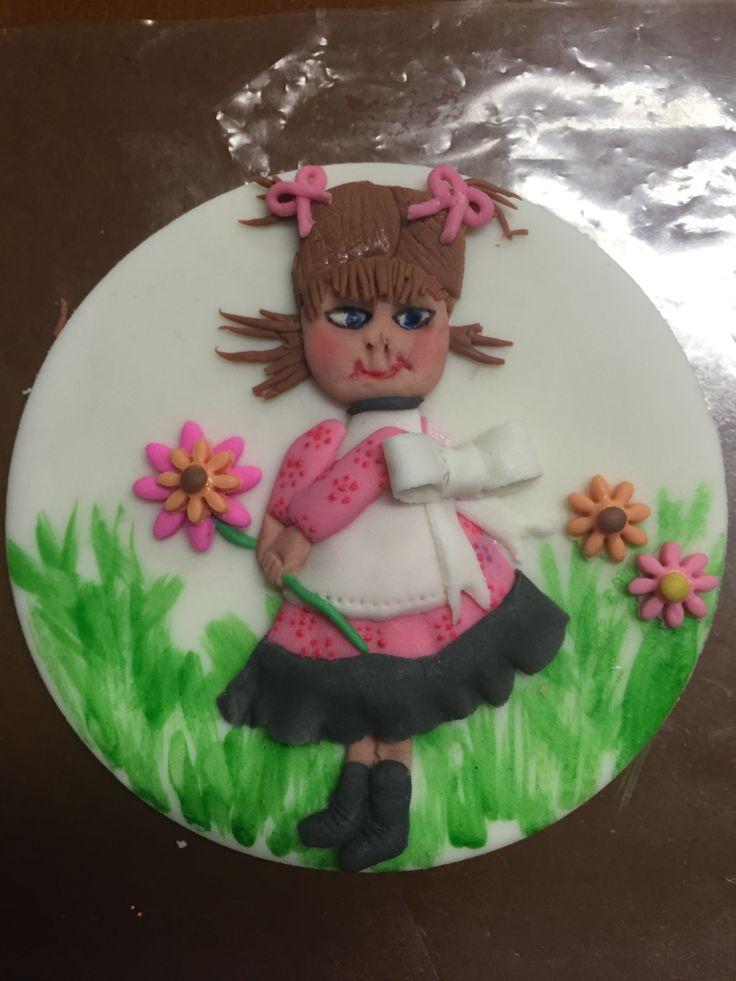 Sugar paste girl!