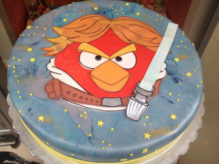 Τούρτες Γενεθλίων - Star Wars - Angry Birds! #sugarela #TourtesGenethlion #StarWars #AngryBirds #BirthdayCakes