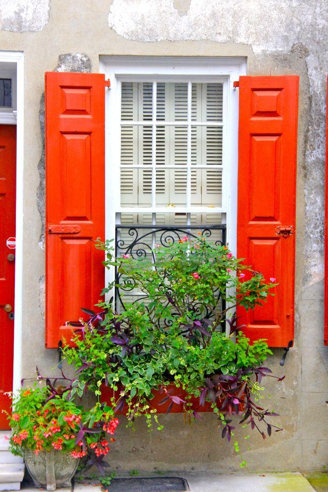 Irresistible colors in Charleston, South Carolina