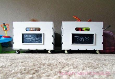 Kids Toy Storage Diy Wooden Crates 48 Ideas – storage / organize