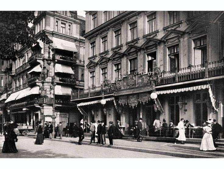 ca 1905 Café Bauer und Café Kranzler Unter den Linden