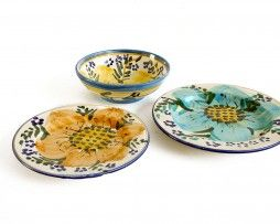 Primavera, a very expressive italian dinnerware. Made in Italy.