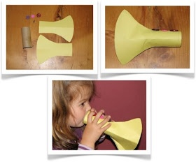 Preschool Crafts for Kids*: Easy Trumpet Music Craft