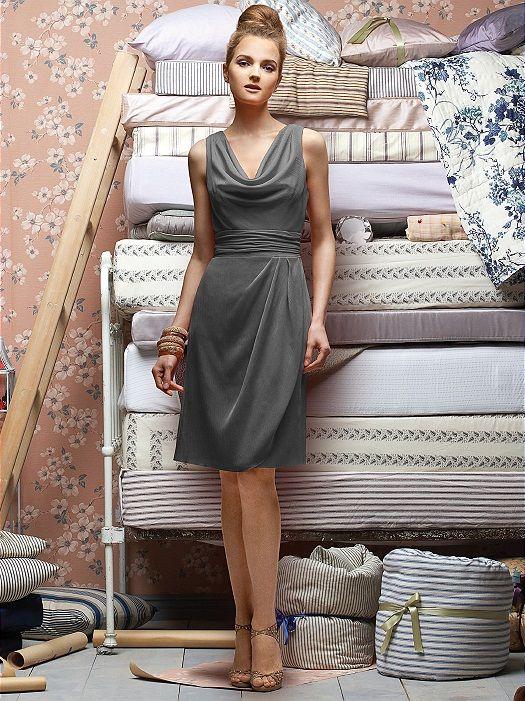 Lela Rose Bridesmaids Style LR153 http://www.dessy.com/dresses/lelarose/lr153/?color=taupe&colorid=109#.UlbM61CTgSM