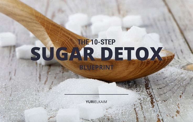 Proven 10-Step Sugar Detox Plan -- We know sugar is bad and highly addictive. So if you want to break free of your addiction and cut it out of your life, follow this simple 10-step sugar detox plan.   Yuri Elkaim