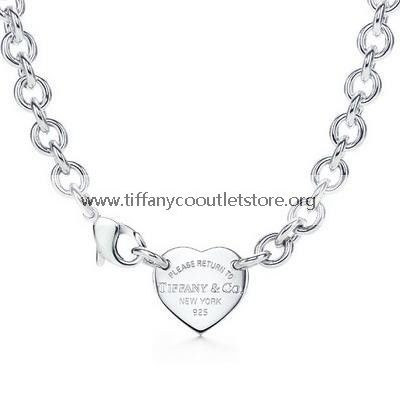 Tiffany And Co Necklace Heart Tag Silver 014 - 67.99