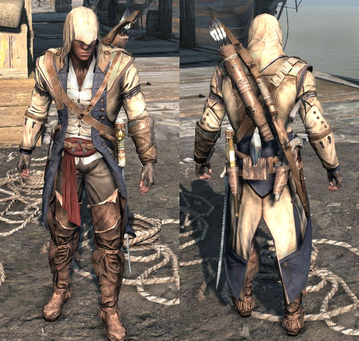 Assassin's Creed III outfits - The Assassin's Creed Wiki - Assassin's Creed, Assassin's Creed II, Assassin's Creed: Brotherhood, Assassin's Creed: Revelations, walkthroughs and more!