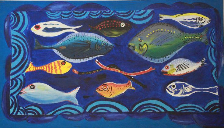 Ortaokul Resim Kulübü Çalışması