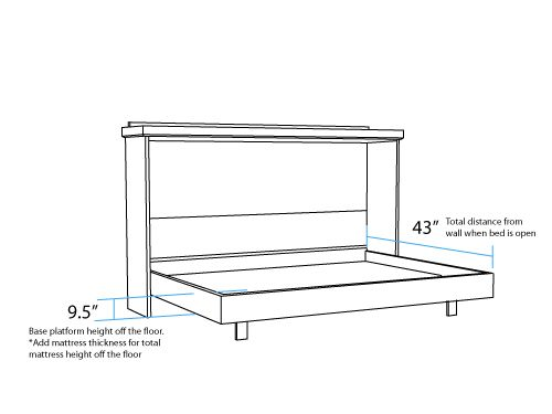 Best 25+ Murphy Bed Frame Ideas On Pinterest | Murphy Bed Plans, Diy Bed  Frame And Diy Full Size Headboard