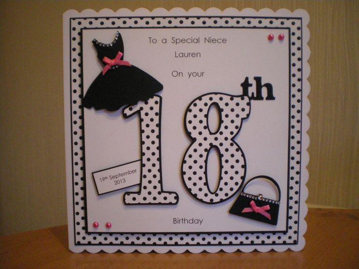 ... 18th cards 18 birthday card girls cards birthday 18th birthday cards