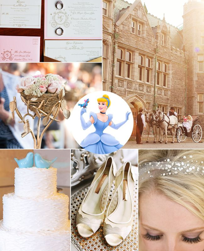 If Cinderella is your favorite Disney Princess then your wedding style is...