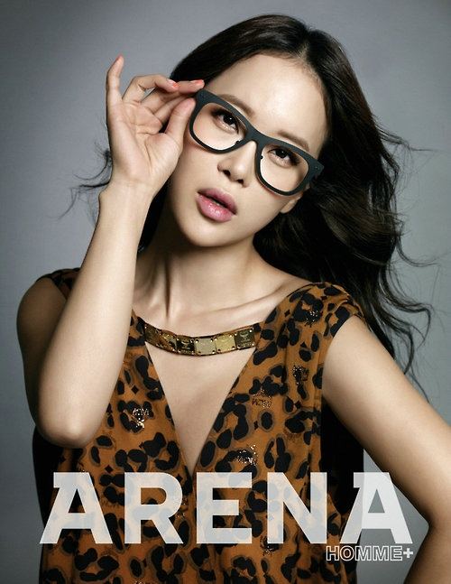 Baek Ji Young - Arena Homme Plus Magazine September Issue '12 #glasses