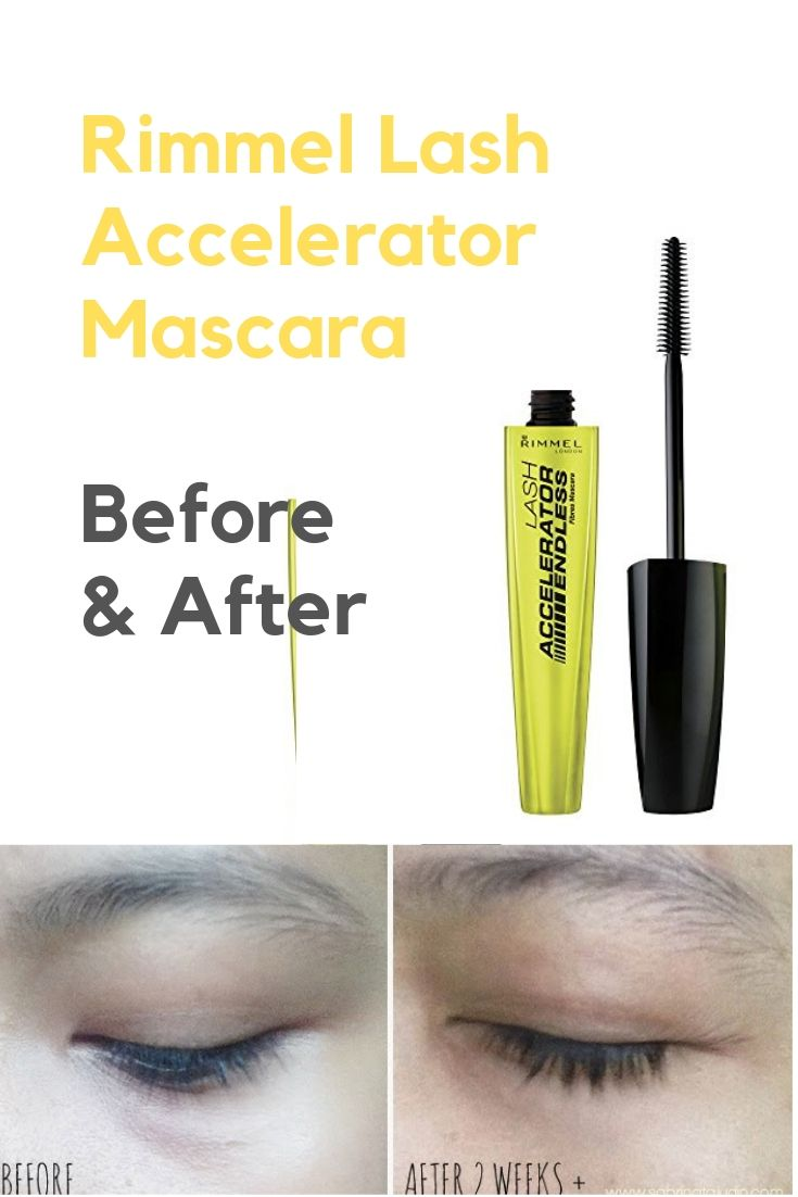 729db339652 Rimmel Lash Accelerator Mascara Endless, 0.33 Fluid Ounce rimmel lash  accelerator before and after good perfect mascara brands