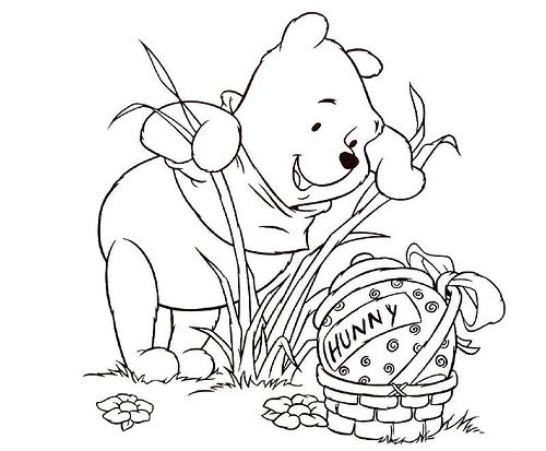 17 Best Images About Winnie The Pooh Coloring Pages On