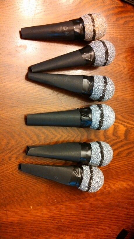 Diy microphones