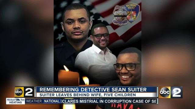 Detective SeanSuiter was an 18 year veteran with the BaltimorePolice Department. He was a homicide detective, a husband and father of five.