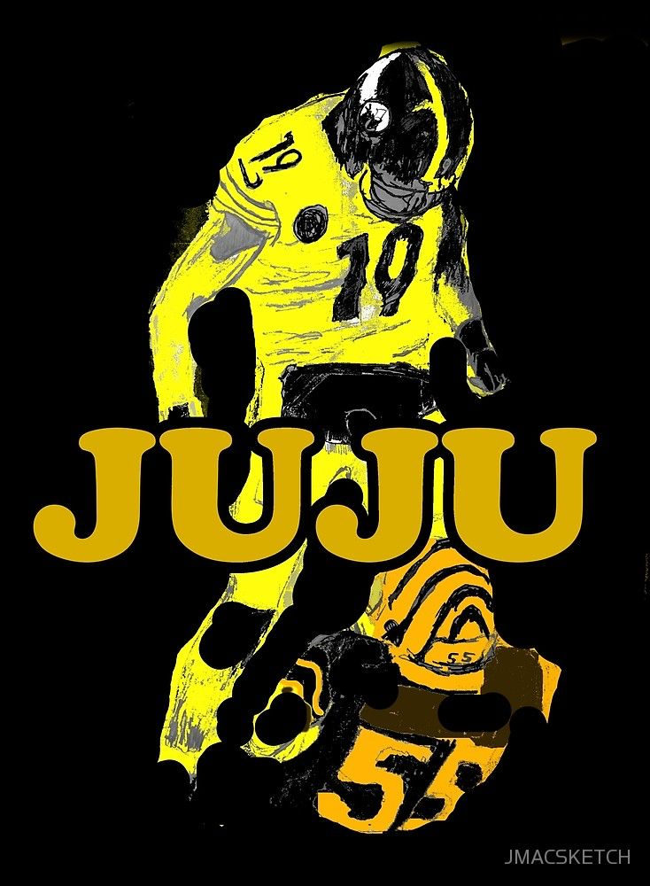 the latest 97477 c0b28 Juju Smith Schuster Hit on Burfict | Jmac Sketch Original ...