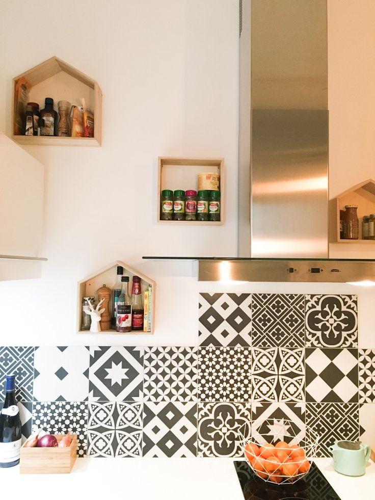 Les Meilleures Idées De La Catégorie Le Carreau Sur Pinterest - Credence carrelage grand format pour idees de deco de cuisine
