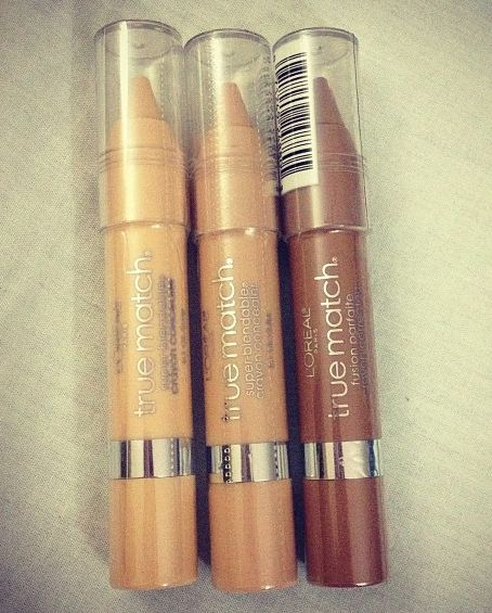 L'oreal True Match Concealer Crayon....I've tried this consealer and I like it!
