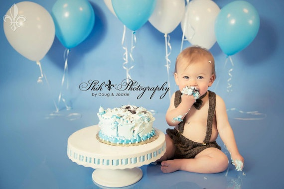 Definitely need balloons!  Baby Boy Diaper Cover Bow tie and suspenders by fourtinycousins, $52.00