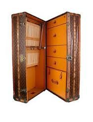 Image result for steamer wardrobe trunk compartments