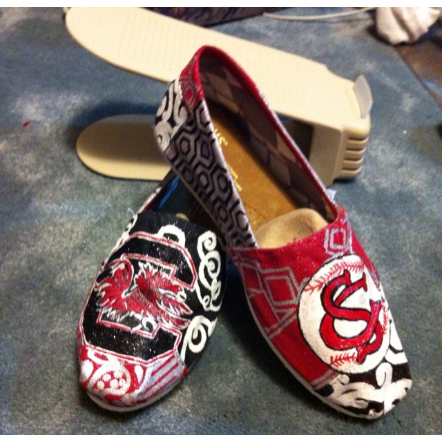USC Gamecock Toms - These would be so perfect and comfy for football season!
