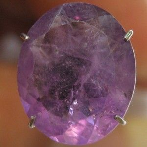 Oval Purple Amethyst 3.50 carat