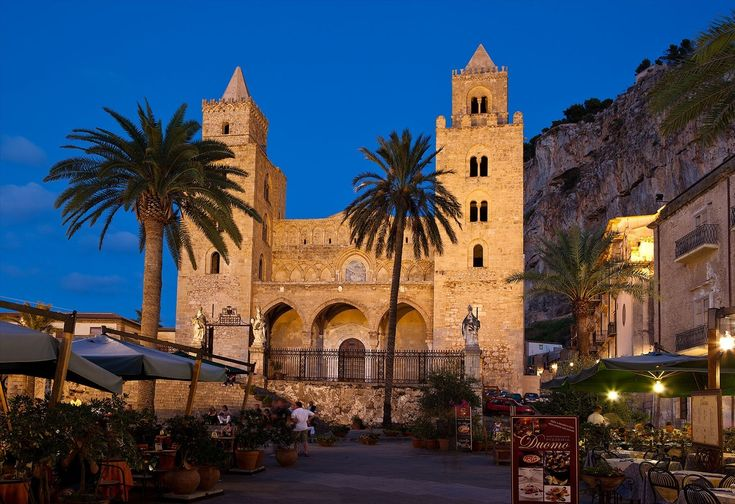 Cefalu cathedral, I was here!!! One of the most beautiful places in Italy/Sicily. Charming town. Dying to go back.