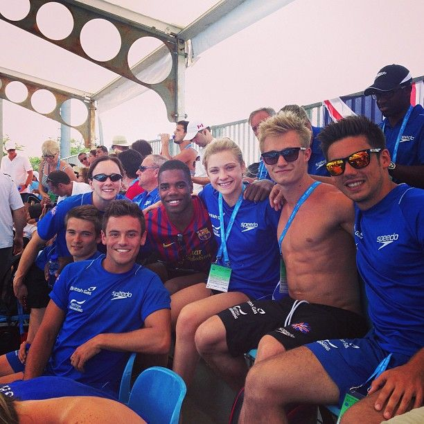 Jack Laugher --    Team GB and Jamaica #BCN2013 @mearschris93 @yonakw @aliciablagg @tomdaley1994 @dannielgoodfellow