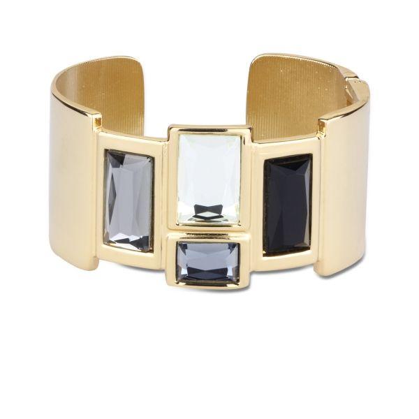 Kristal Taşlı Kalın Bileklik #bileklik #trend #moda #aksesuar #kadın #takı #bracelet #women #jewelry #chic #accessories #streetstyle #style #elegant