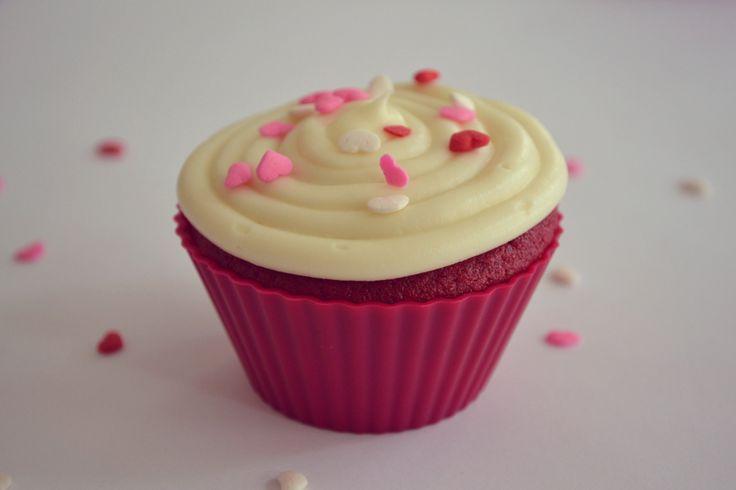 Red Velvet Cupcake ~ Valentine's Day Inspiration