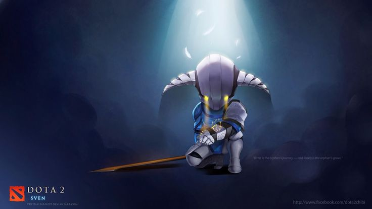 dota 2 chibi wallpaper sven