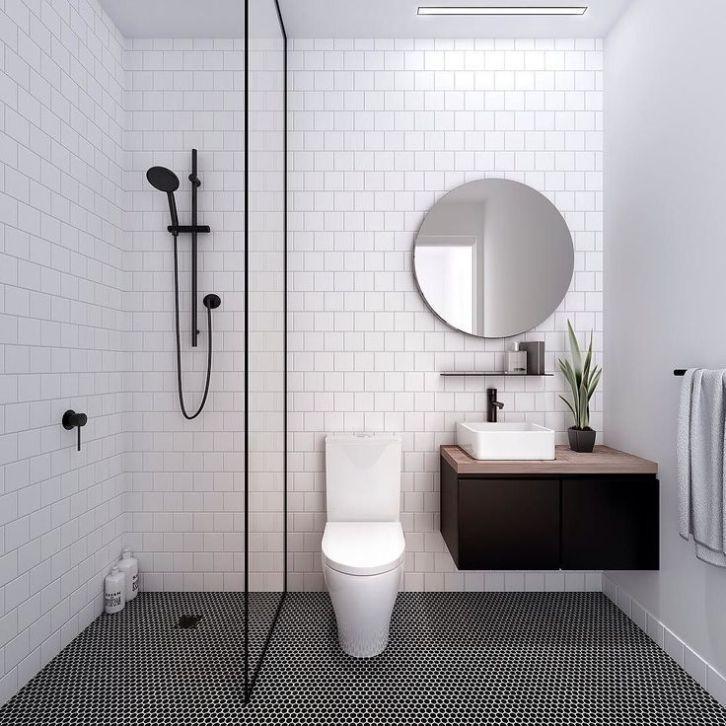 15 Beautiful Small White Bathroom Remodel Ideas Interior Remodel Simple Bathroom Small Bathroom Remodel Bathroom Design Small Small white bathroom design ideas
