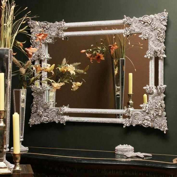 Swarovski Crystal Mirror Furniture That I Love