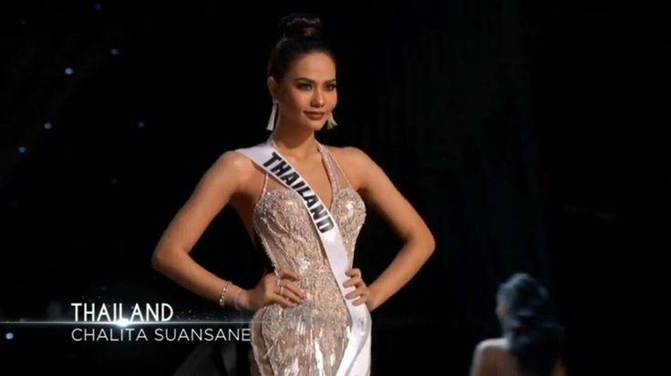 Please vote for her #MissUniverse #Thailand
